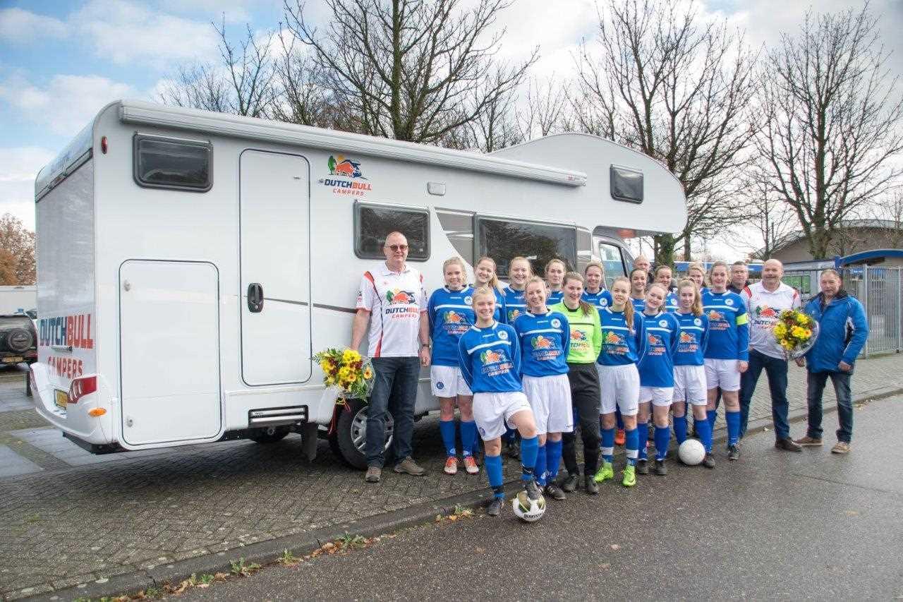 Sponsoring dames voetbalteam