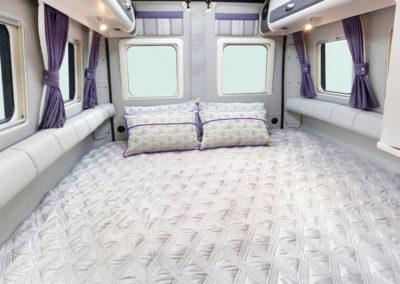 Warwick XL dubbel bed paars